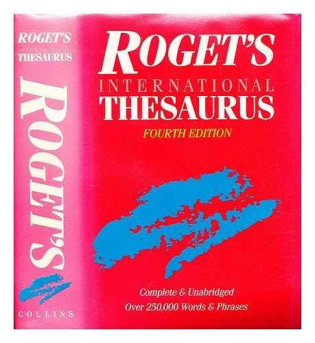 9780004332796: International Thesaurus