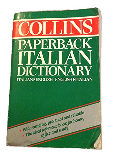 9780004333342: The Collins Paperback Italian Dictionary
