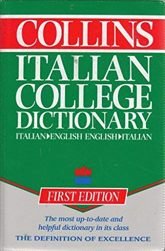 9780004333434: Collins Italian College Dictionary