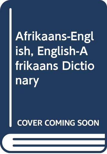 9780004334158: Afrikaans-English, English-Afrikaans Dictionary