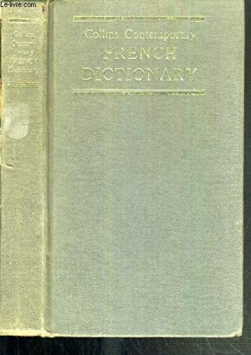 9780004334219: Collins Contemporary French Dictionary