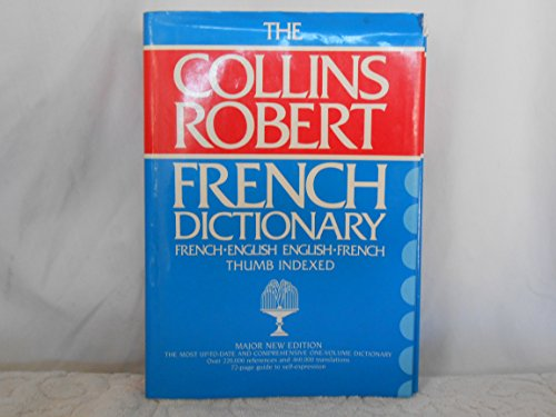 9780004334516: Collins-Robert French-English, English-French Dictionary
