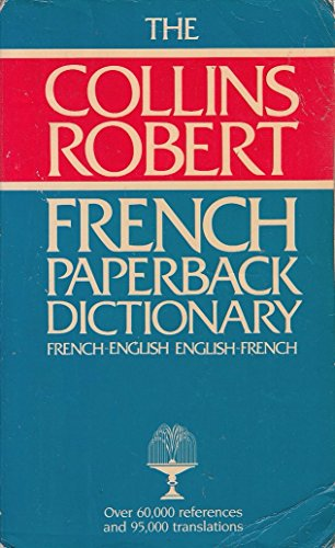 9780004334561: Collins-Robert-Paperback French-English English-French Dictionary
