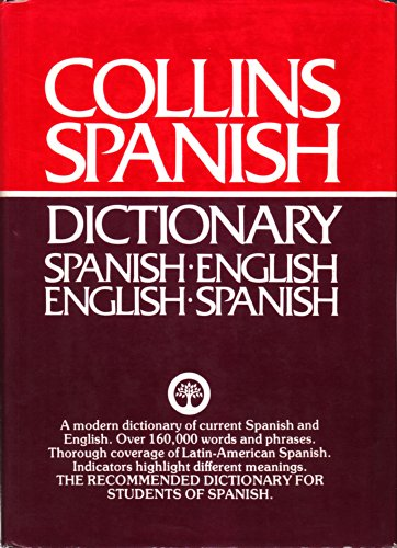 COLLINS SPANISH DICTIONARY SPANISH -ENGLISH ENGLISH TO: SMITH COLIN MARCOS