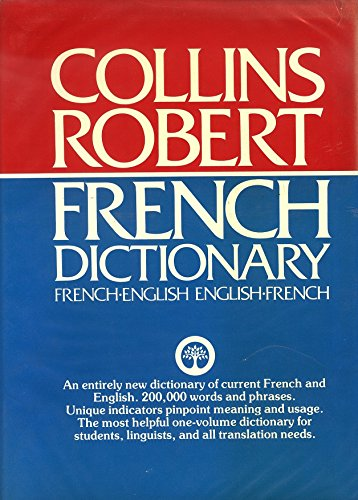 9780004334790: Collins Robert French Dictionary Ti