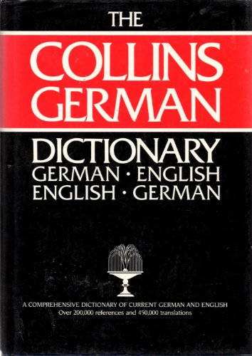 9780004334813: Collins German Dictionary (English and German Edition)