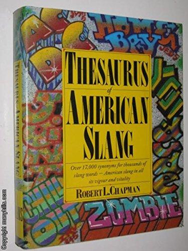 9780004335506: Thesaurus of American Slang