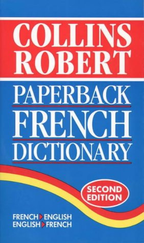 9780004336220: Collins-Robert Paperback French Dictionary