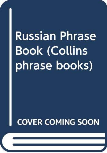 9780004339054: Russian Phrase Book (Collins phrase books)