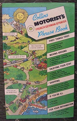 9780004339801: Motorist's Phrase Book