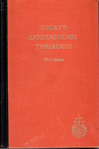 9780004340517: International Thesaurus