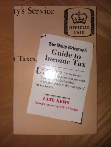 "9780004341675: "" Daily Telegraph "" Guide to Income Tax"
