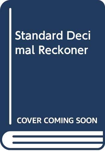 9780004342016: Standard Decimal Reckoner