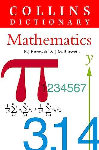 9780004343471: Mathematics (Collins Dictionary Of . . .)