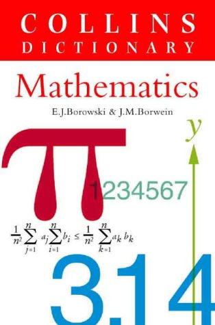 9780004343471: Dictionary of Mathematics (Reference Dictionaries)