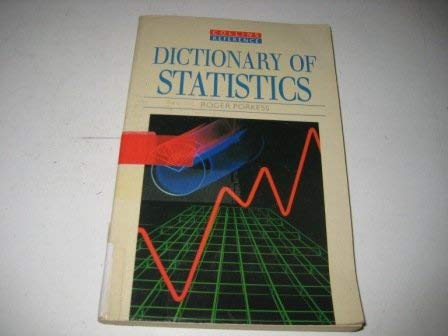 9780004343549: Statistics (Reference Dictionaries)