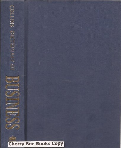 9780004343747: Collins Dictionary of Business