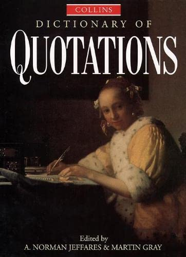 9780004343822: Collins Dictionary of Quotations