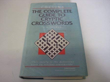 9780004345703: The Complete Guide to Cryptic Crosswords