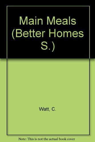 9780004355115: Main Meals (Better Homes)