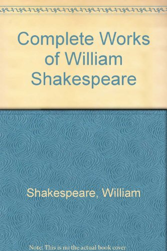 9780004356433: Complete Works of William Shakespeare