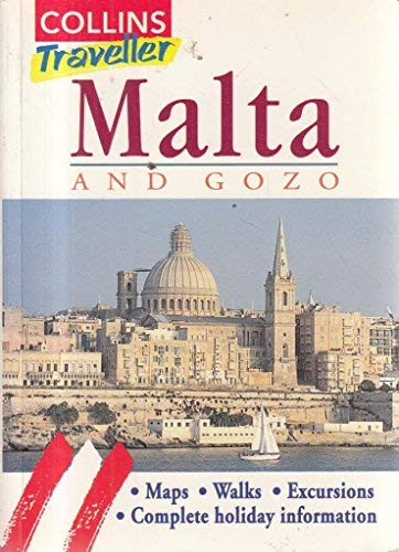 9780004358444: Malta (Collins Traveller)