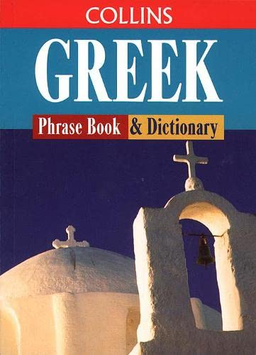9780004358697: Greek Phrase Book and Dictionary (Collins Traveller)