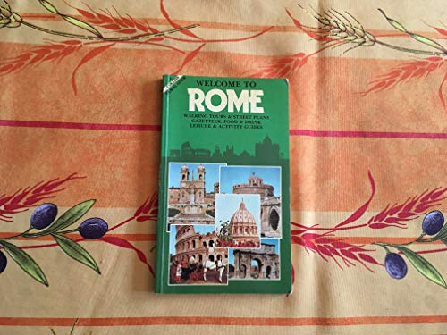 9780004473147: Welcome to Rome (A Collins travel guide)