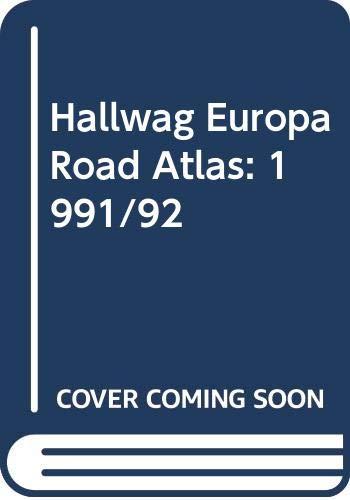 9780004478869: Hallwag Europa Road Atlas: 1991/92