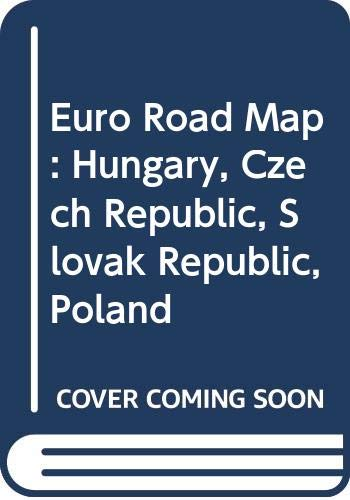9780004480466: Euro Road Map: Hungary, Czech Republic, Slovak Republic, Poland