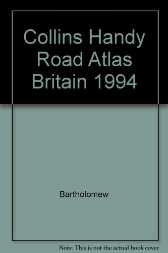 9780004480664: Collins Handy Road Atlas Britain 1994