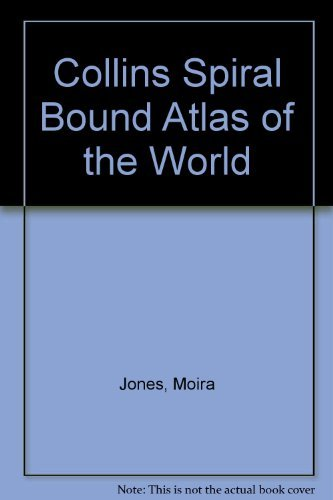 9780004480763: Collins Spiral Bound Atlas of the World