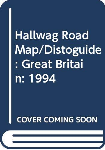 9780004481241: Hallwag Road Map/Distoguide: Great Britain: 1994