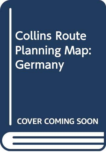 9780004481678: Collins Route Planning Map: Germany