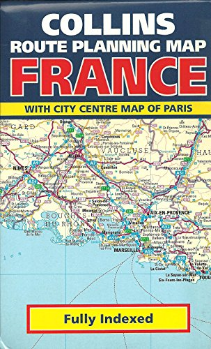 9780004482699: Collins Route Planning Map: France