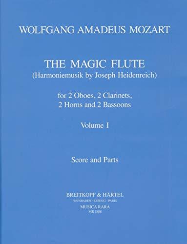 9780004484822: Die Zauberflöte KV 620 Harmoniemusik bearb. von J. Heidenreich Band 1 - Partitur und Stimmen (MR 1888)
