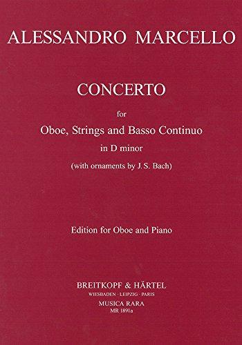 9780004484853: MARCELLO - Concierto en Re menor para Oboe y Piano (Voxman/Hervig)