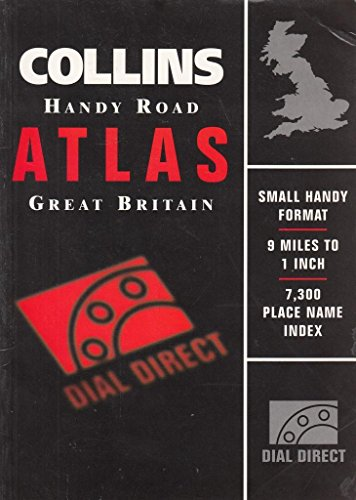 9780004485386: Collins Handy Road Atlas Britain 1997