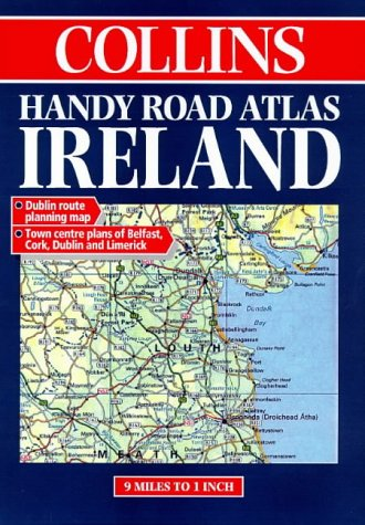 9780004485638: Collins Handy Road Atlas Ireland
