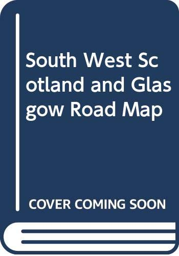 9780004485768: South West Scotland and Glasgow Road Map
