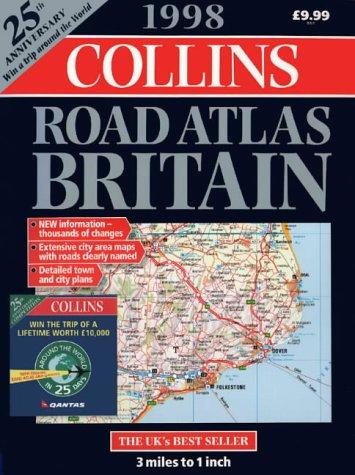 9780004485829: Collins Road Atlas: Britain: 1998