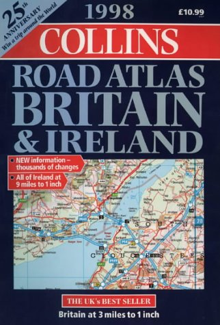 9780004485836: Collins A4 Road Atlas: Britain and Ireland