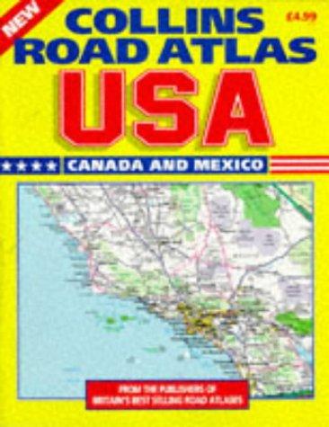 9780004485911: Collins Road Atlas: USA, Canada and Mexico: 1997
