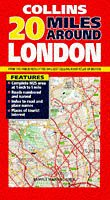 9780004485966: 20 Miles Around London: 1 inch: 1 mile (Map)