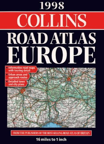 9780004486130: Collins Road Atlas: Europe: 1998