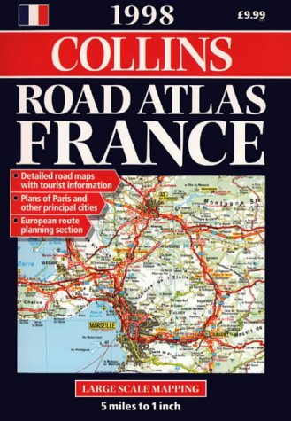 9780004486192: Collins Road Atlas: France: 1998