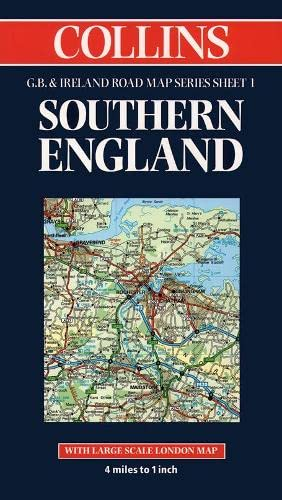 9780004486628: Southern England (Collins Great Britain & Ireland Road Map)