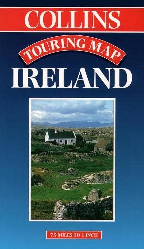 9780004486697: Ireland, Collins Touring Map (Touring maps)