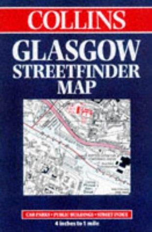 9780004486734: Glasgow Street Finder Map (Streetfinders)