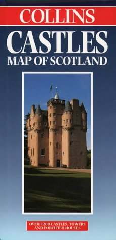 9780004486888: Castles Map of Scotland (Collins British Isles and Ireland Maps)